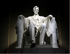 Abraham Lincoln Memorial in Washington, DC